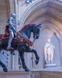 Interior do palácio real em Windsor Castle medieval Reino Unido foto de stock