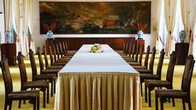 Interior do palácio da independência, Ho Chi Minh Fotografia de Stock Royalty Free