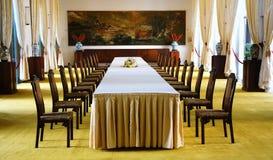 Interior do palácio da independência, Ho Chi Minh Imagem de Stock Royalty Free