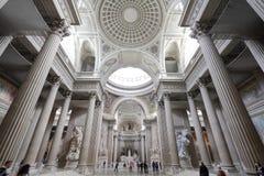 Interior do panteão, Paris Fotografia de Stock