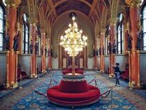 Interior do parlamento Imagens de Stock