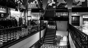 Interior do pavilhão velho da estação de correios em Washington, C.C. Imagem de Stock Royalty Free