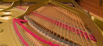 Interior do piano Foto de Stock