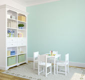 Interior do playroom. Foto de Stock Royalty Free