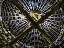 Interior do pombal do solar de Furtho Fotografia de Stock Royalty Free