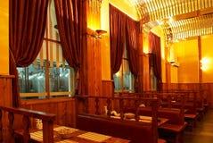 Interior do pub da cerveja Foto de Stock Royalty Free