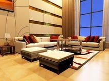 Interior do quarto Imagem de Stock Royalty Free