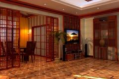 Interior do quarto imagens de stock royalty free