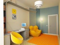 interior do quarto de crianças Imagem de Stock Royalty Free