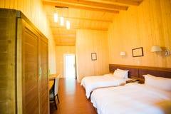 Interior do quarto de hotel Fotos de Stock