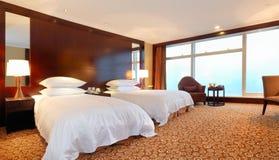 Interior do quarto de hotel Fotografia de Stock