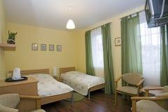 Interior do quarto de hotel Imagens de Stock Royalty Free