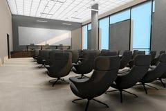 Interior do quarto de reunião do negócio Fotos de Stock