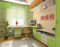 Interior do quarto do bebê Fotos de Stock