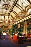 Interior do restauran do hotel de luxo, San Francisco Foto de Stock Royalty Free