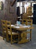 Interior do restaurante Fotografia de Stock