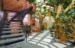 Interior do restaurante Foto de Stock