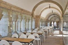 Interior do restaurante tradicional em Budapest cit Fotos de Stock
