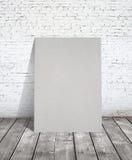 Cartaz cinzento fotografia de stock royalty free
