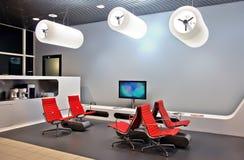 Interior do salão de espera Foto de Stock Royalty Free