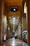 Interior do shopping de Vittorio Emanuele II da galeria Foto de Stock Royalty Free