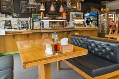 Interior do snack bar fotos de stock royalty free