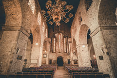 Interior do St Mary Cathedral Imagem de Stock