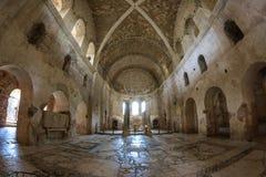 Interior do St Nicholas Church Demre Turkey Imagens de Stock Royalty Free