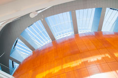 Interior do teatro da ópera de Copenhaga Foto de Stock Royalty Free