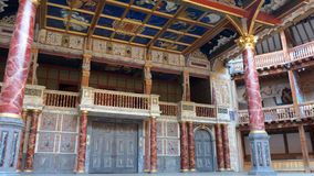 Teatro do globo Imagem de Stock Royalty Free