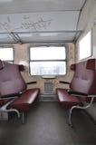 Interior do trem Imagem de Stock Royalty Free