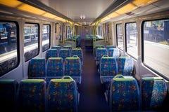 Interior do trem de Melbourne Imagem de Stock Royalty Free