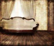 Interior do vintage do estilo Imagens de Stock Royalty Free