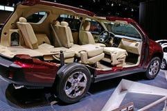 Interior of a Dodge minivan Royalty Free Stock Photography