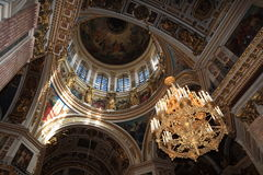 Interior of dome Royalty Free Stock Photos