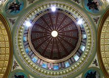 Interior Dome of Church Royalty Free Stock Images