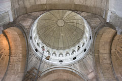 Interior dome detail from Church of Saint Sava Royalty Free Stock Photos