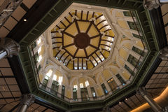 Interior of dome at Tokyo railway station Royalty Free Stock Image