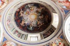Interior Dome - Vatican Museum, Roma Stock Images