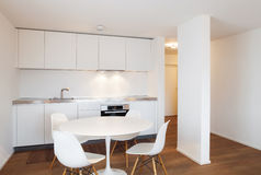 Interior, domestic kitchen Stock Photography