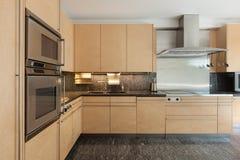 Interior, domestic kitchen Stock Photos
