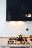 Interior, domestic kitchen Royalty Free Stock Photo
