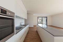 Interior, domestic kitchen Stock Images