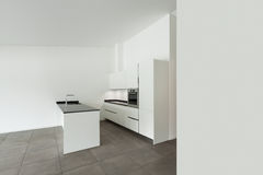 Interior, domestic kitchen Stock Photo