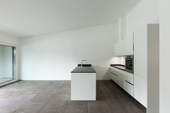 Interior, domestic kitchen Royalty Free Stock Photography