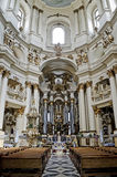Interior Dominican Cathedral Stock Photography