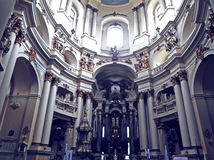 Interior of the Dominican Church Royalty Free Stock Photo
