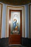 Interior door at the Parish Church of Santa Maria in Mosta, Malta. Stock Image