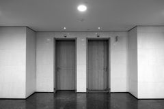 Interior doors Royalty Free Stock Photo