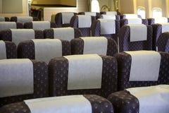 Interior dos aviões fotos de stock royalty free